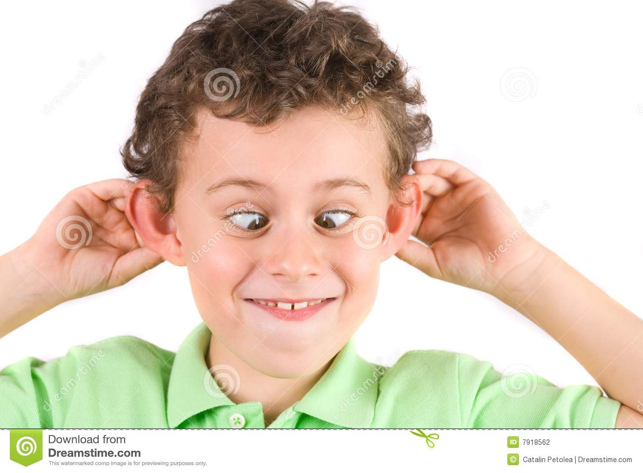 Child Making Silly Faces Stock Photo Image Of Childhood