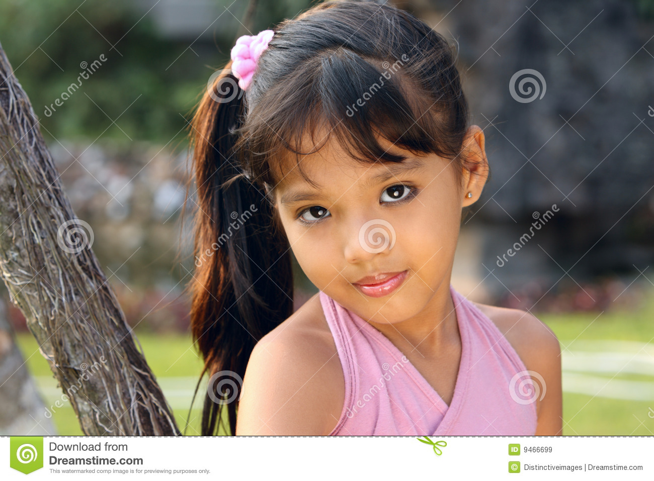 Child Outdoor 5 Years Old Stock Image Image Of Head