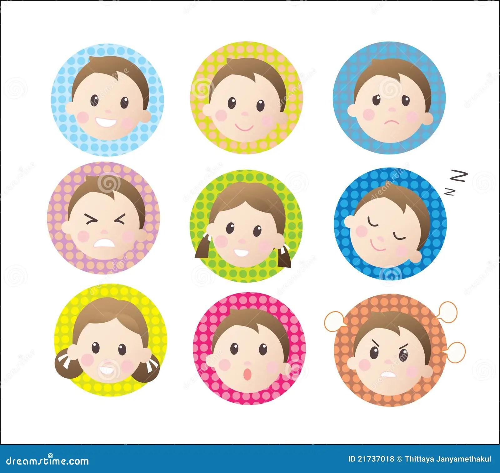 Children Emotion Royalty Free Stock Photos