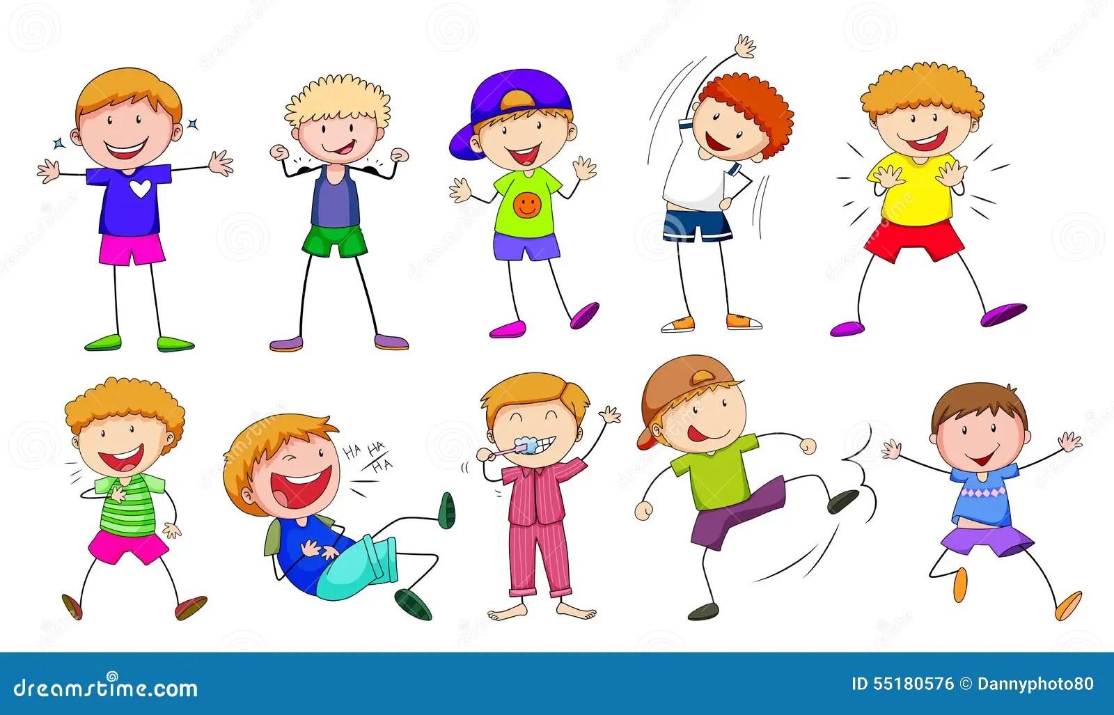 Children Stock Vector Illustration Of Backdrop Active