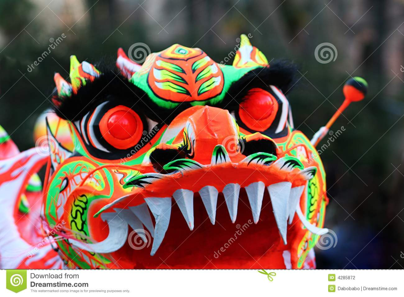 Chinese Dragon Mask Eyes Stock Photo Image Of Cultural