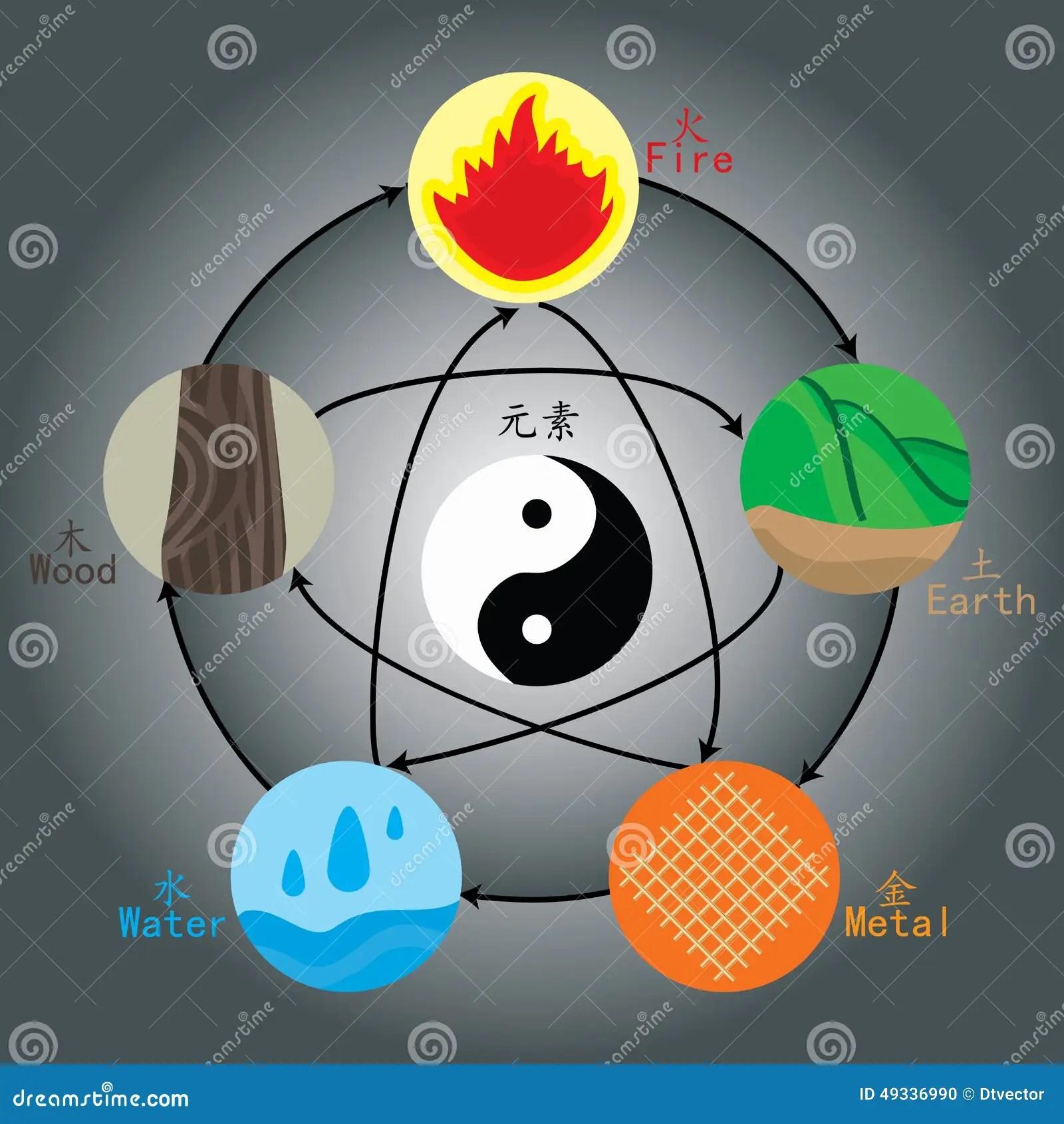 Five Elements Wood Water