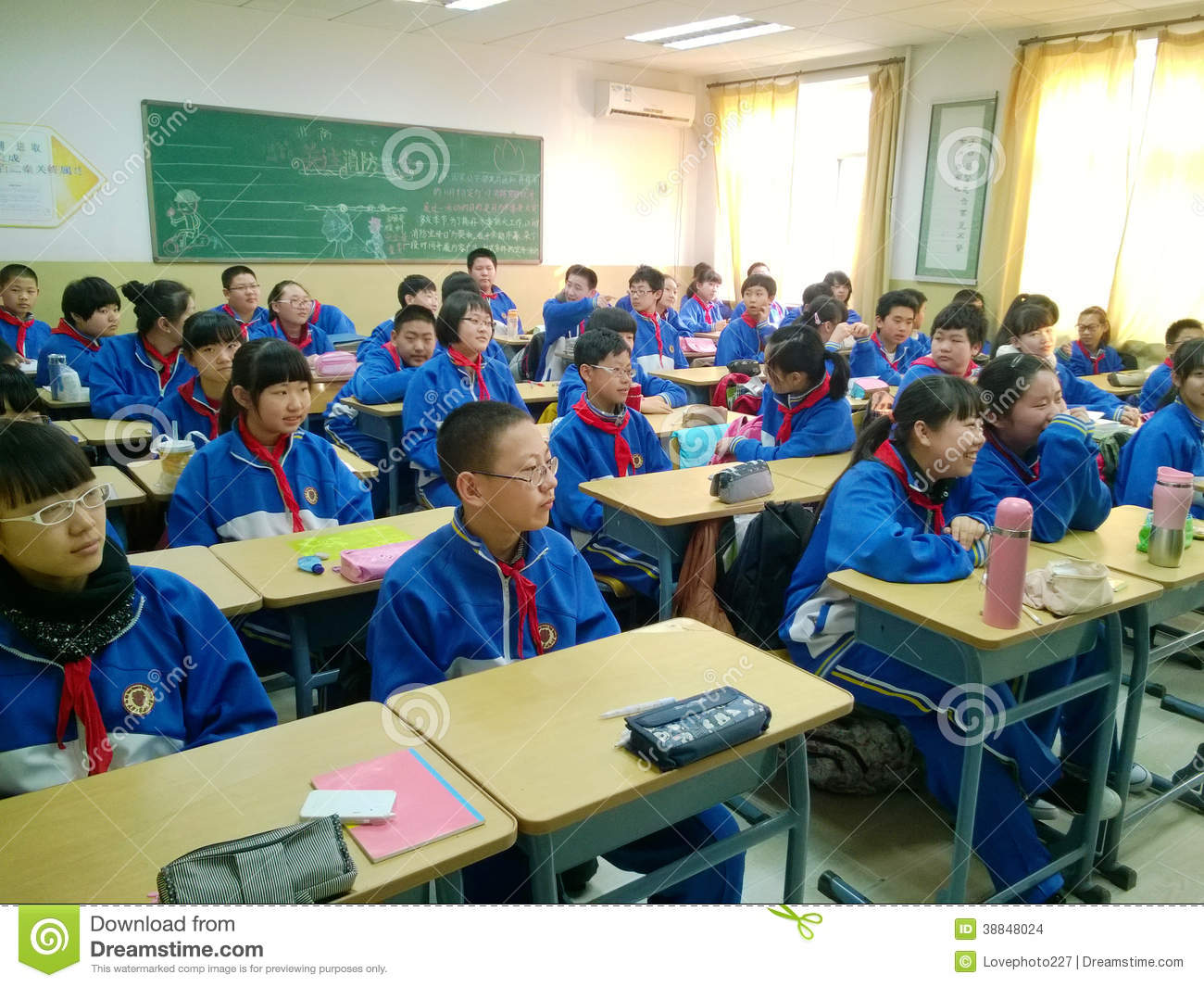 Chinese Junior Students Editorial Stock Image Image Of