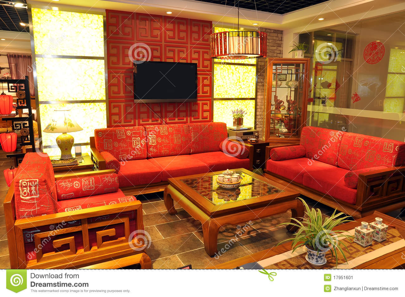 Chinese Traditional Furniture Stock Image Image 17951601