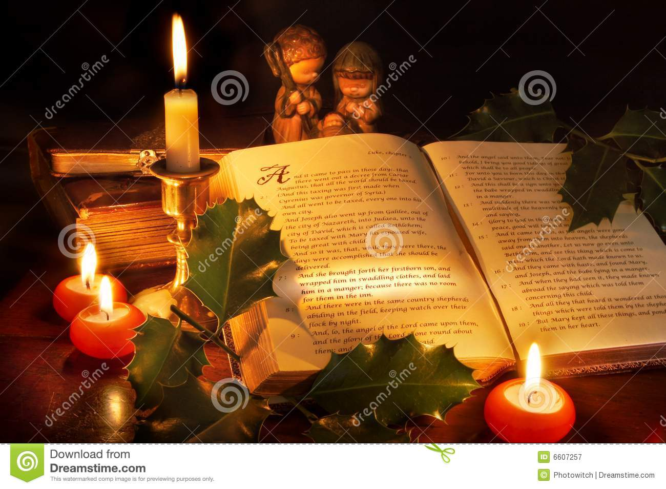 Christmas In The Bible Royalty Free Stock Photography