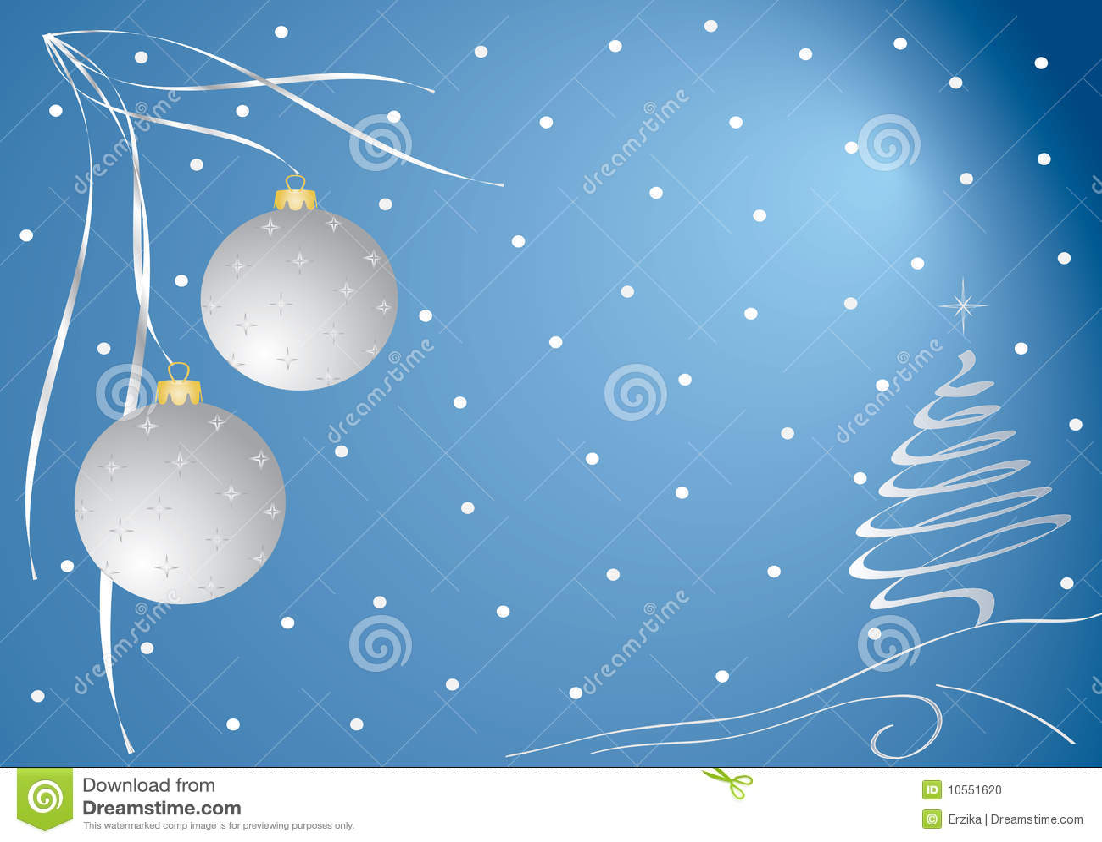 Christmas Card Stock Vector Illustration Of Ornate