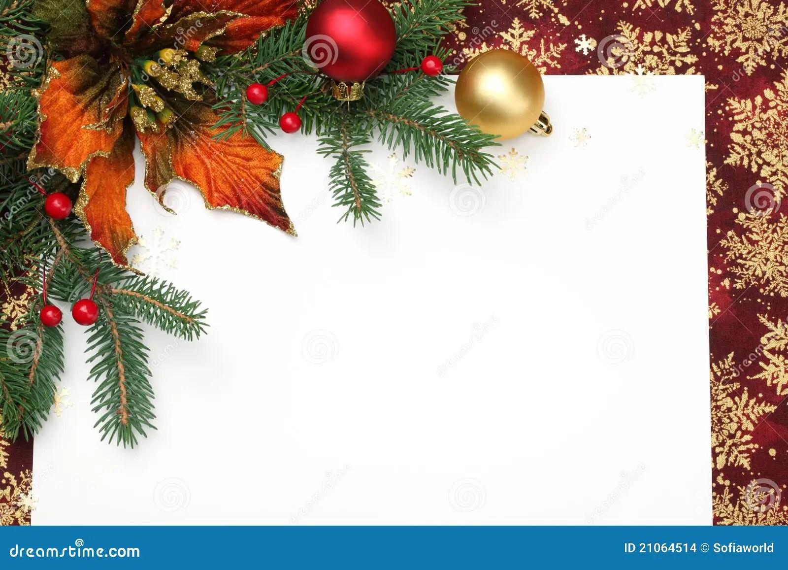 Christmas Card Stock Photo Image Of Balls Christmas