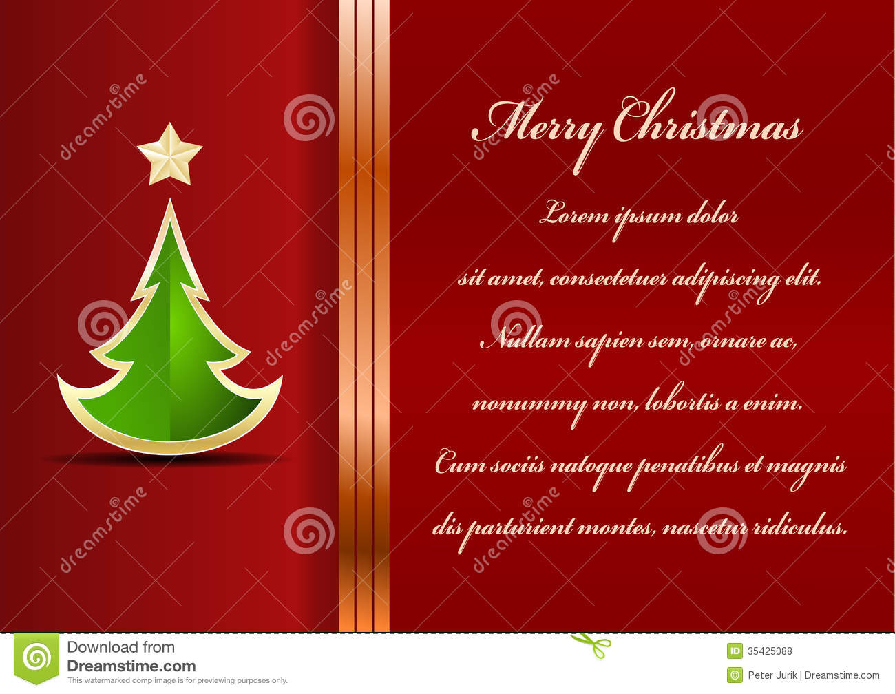 Christmas Card Stock Vector Illustration Of Font