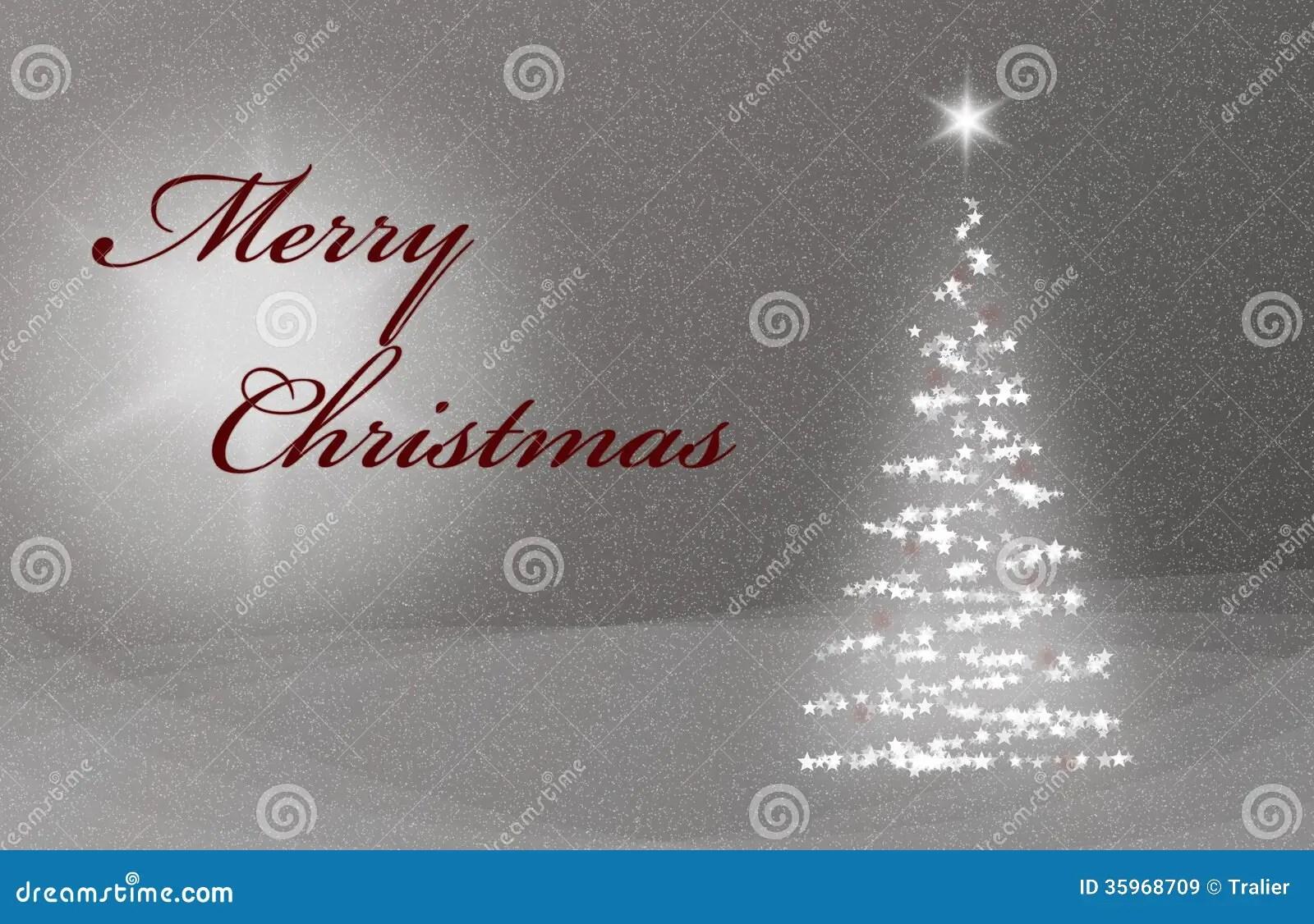 Christmas Card X Mas Card With Christmastree Snow And