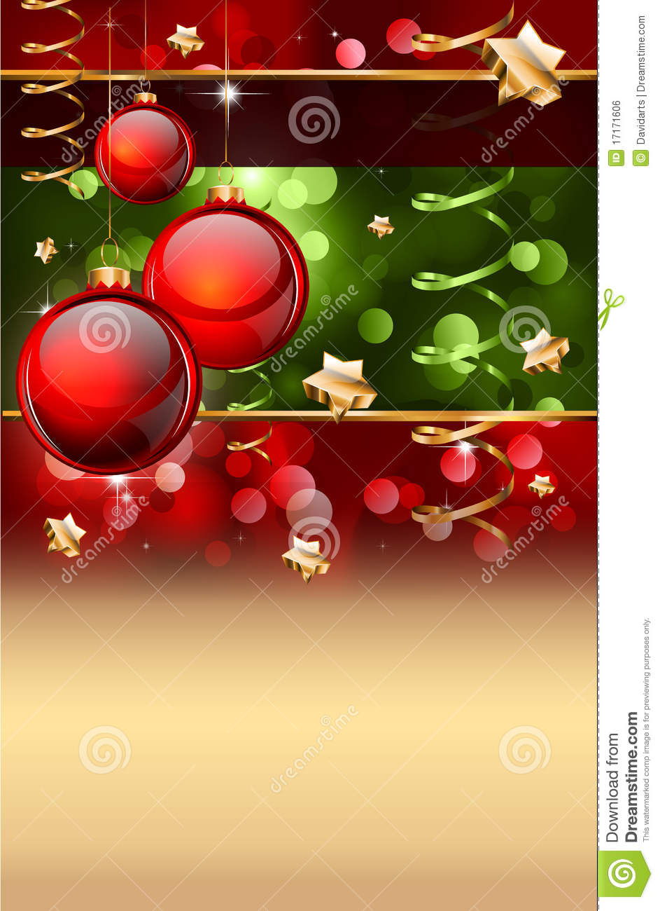 Christmas Elegant Background For Flyers Or Posters Royalty Free Stock Image Image 17171606