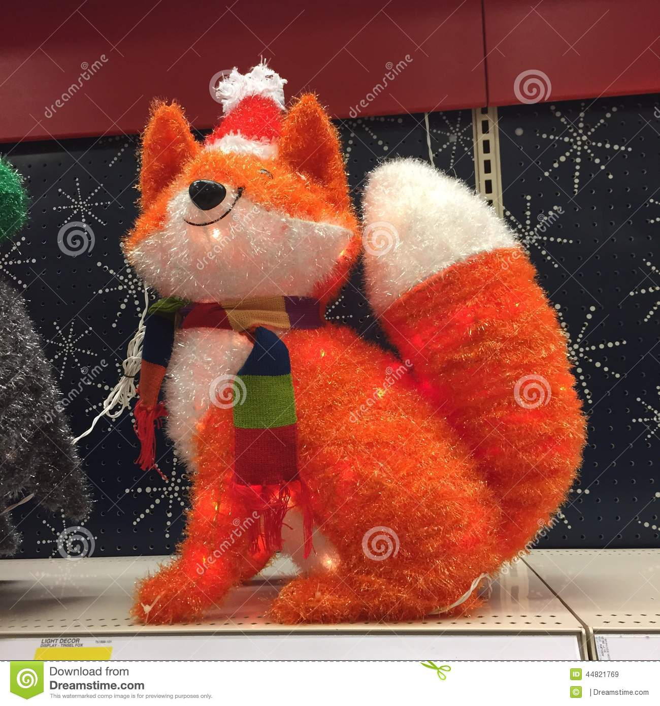 Christmas Fox Editorial Stock Image Image Of Cards