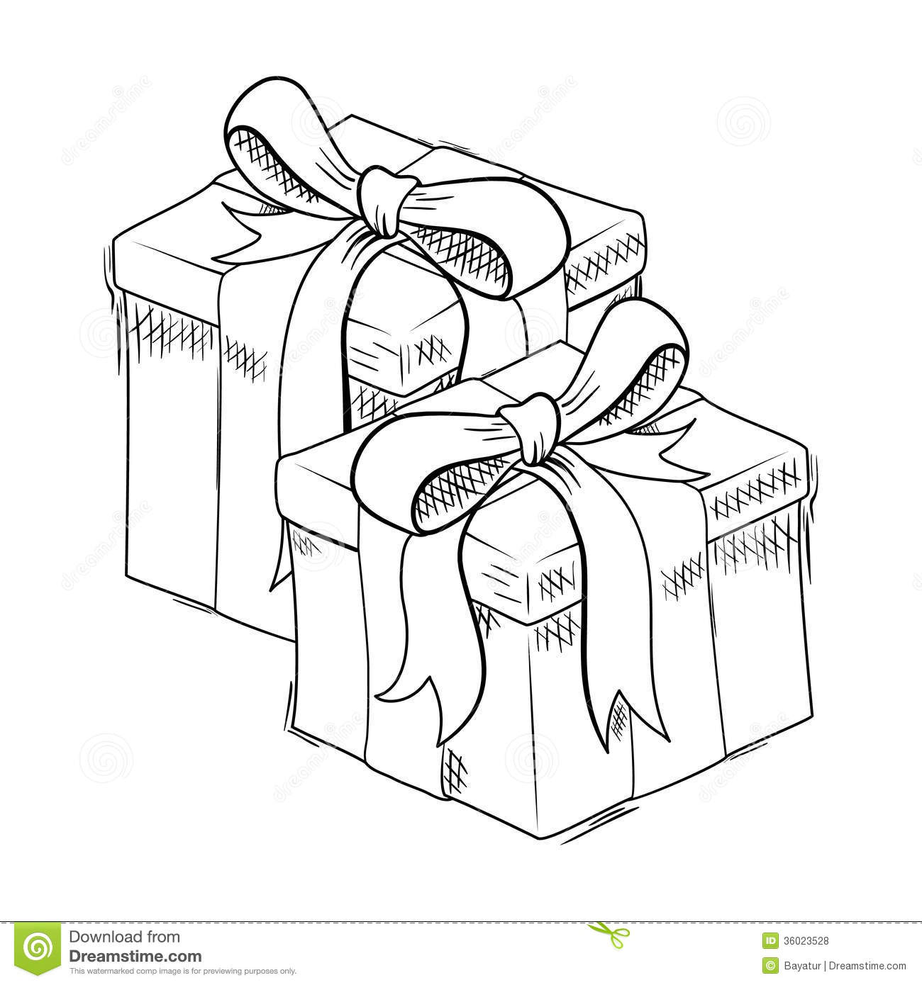 Christmas T Sketch Stock Vector Illustration Of
