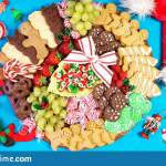 Christmas Holiday Large Dessert Grazing Platter Charcuterie Board Stock Photo Image Of Gingerbread Celebration 162347922