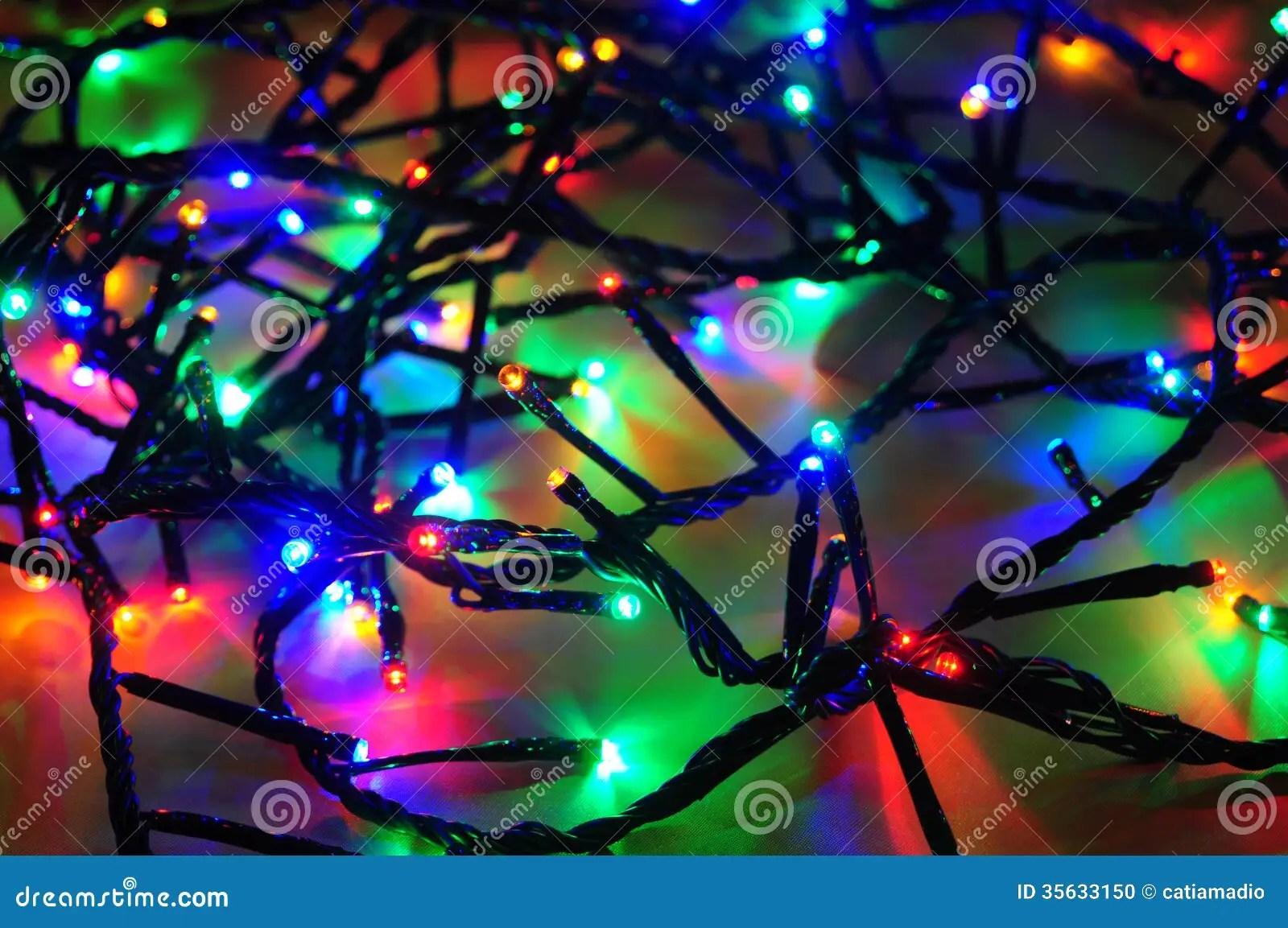 Christmas Lights Wire Stock Photo Image Of Lights