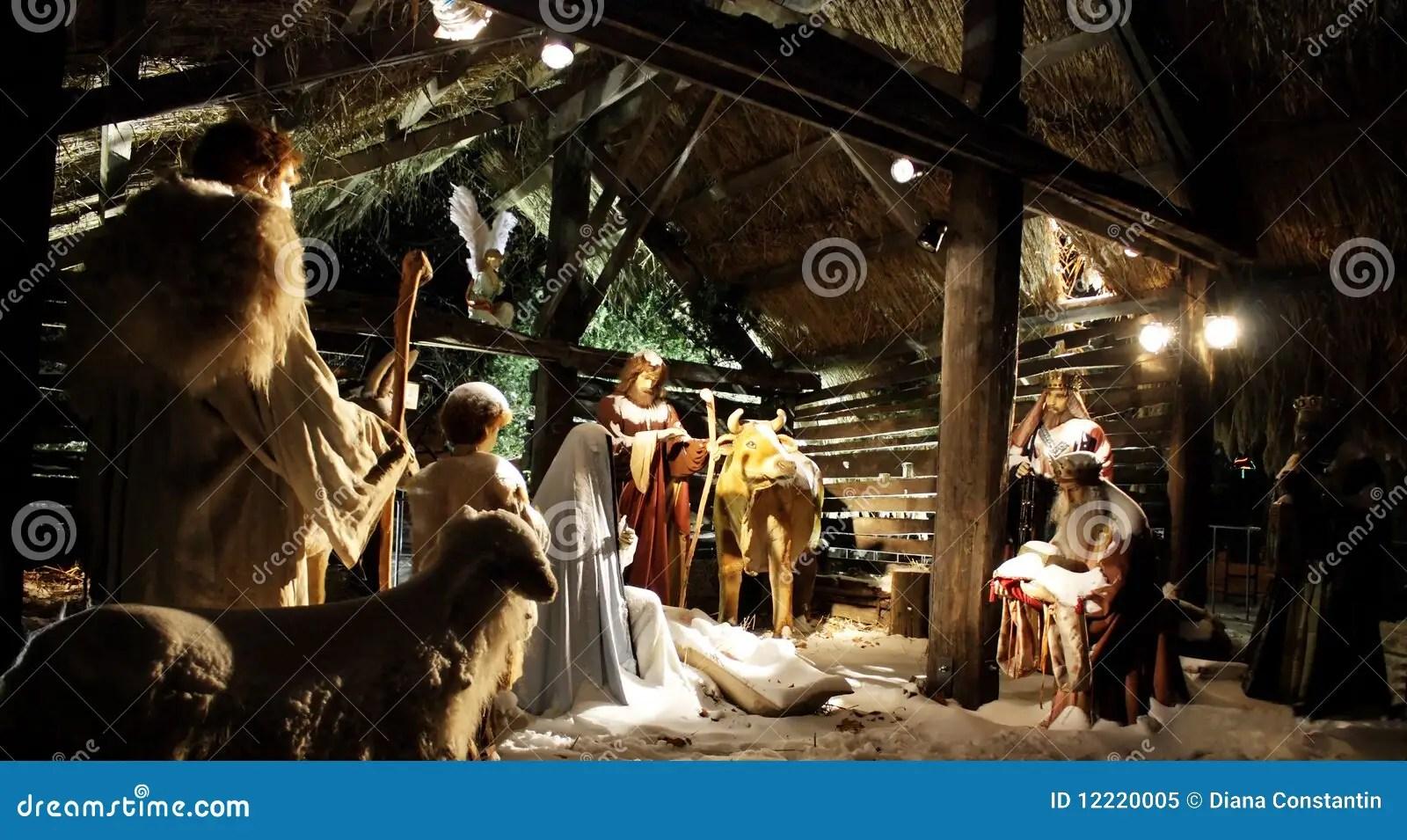 Christmas Nativity Royalty Free Stock Photo Image 12220005
