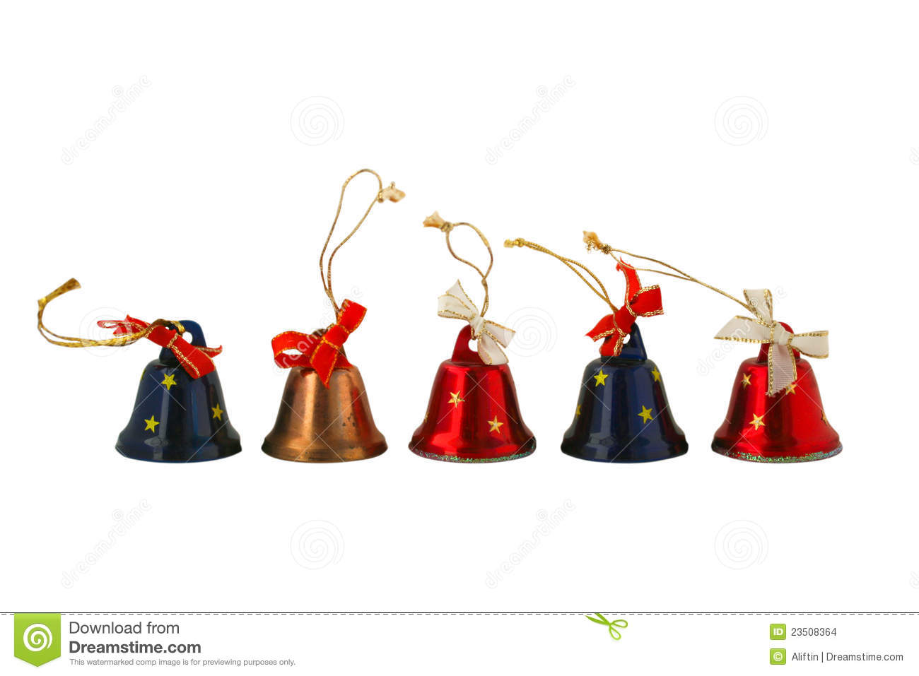 Christmas Small Bell Stock Images Image 23508364