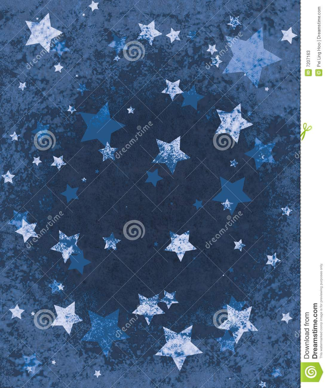 Christmas Stars Wrapping Paper Stock Photos Image 7207163