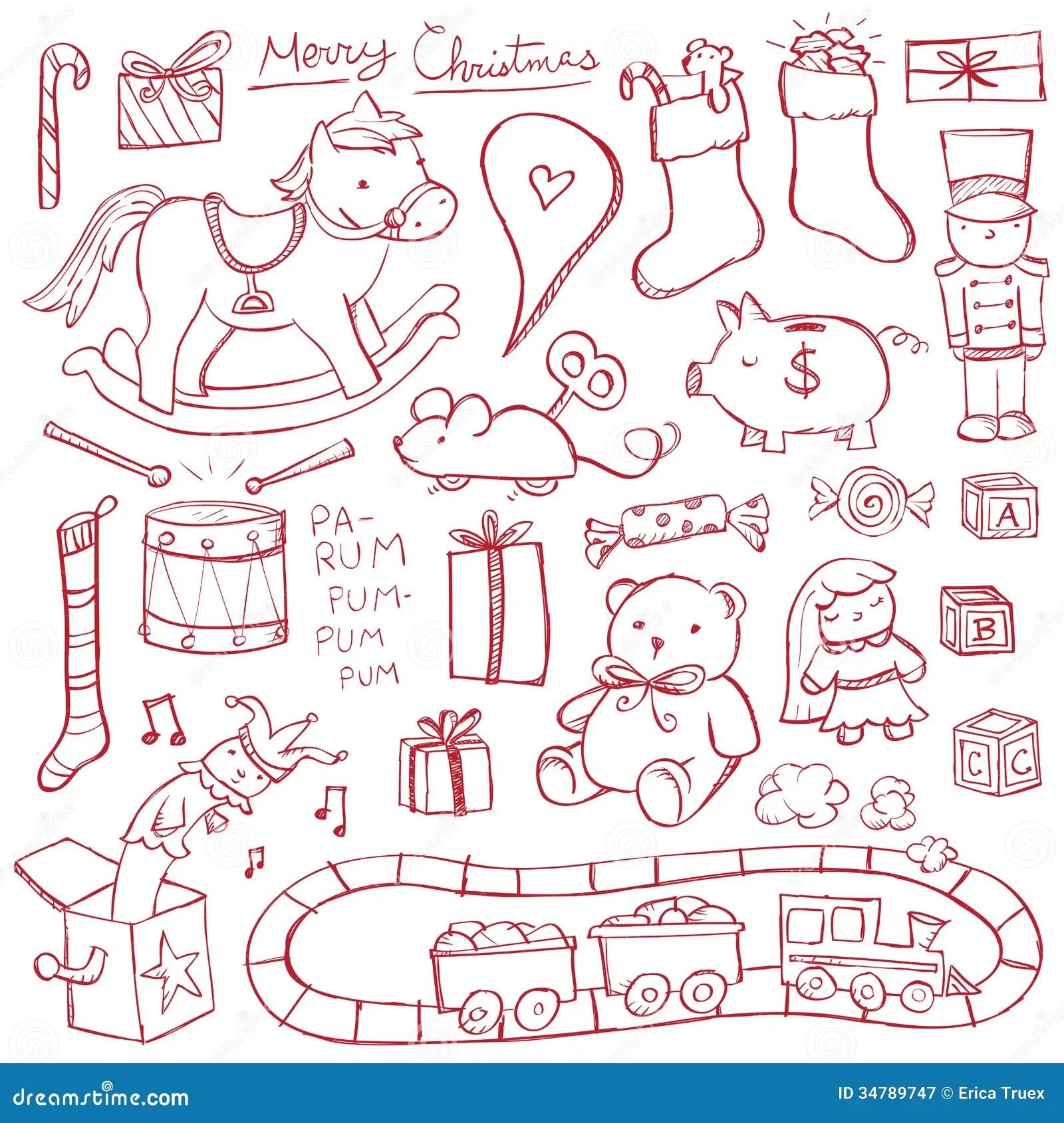 Teddy Bear Heart Drawing