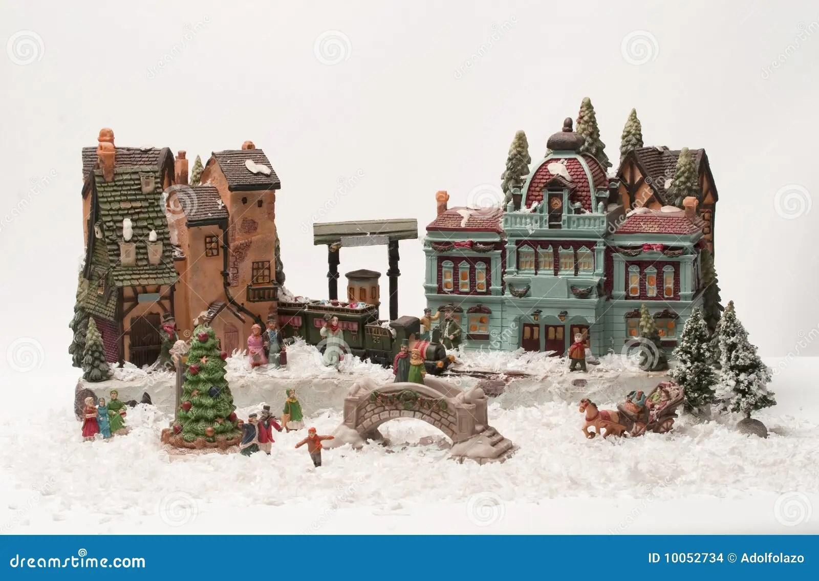 Christmas Village Stock Photo Image Of Village