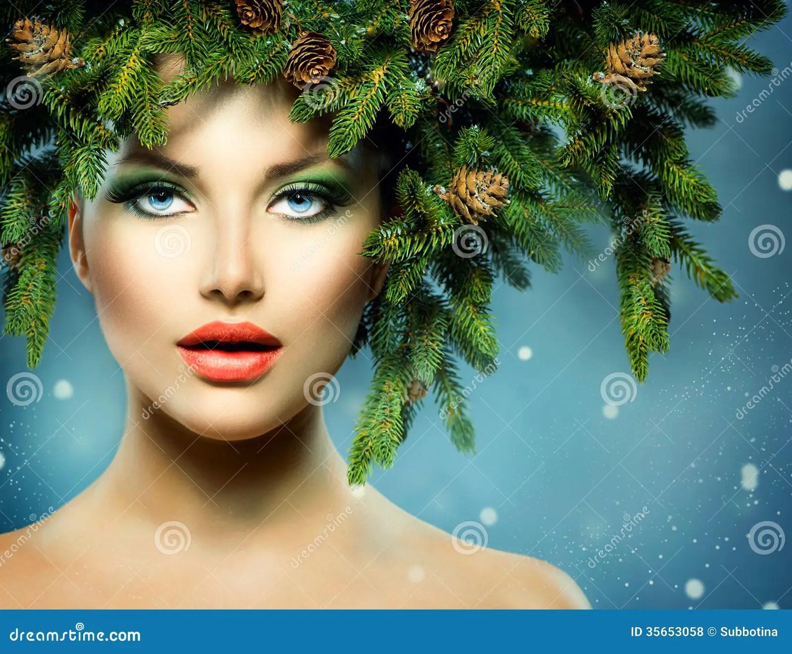 Christmas Woman Royalty Free Stock Photos Image 35653058