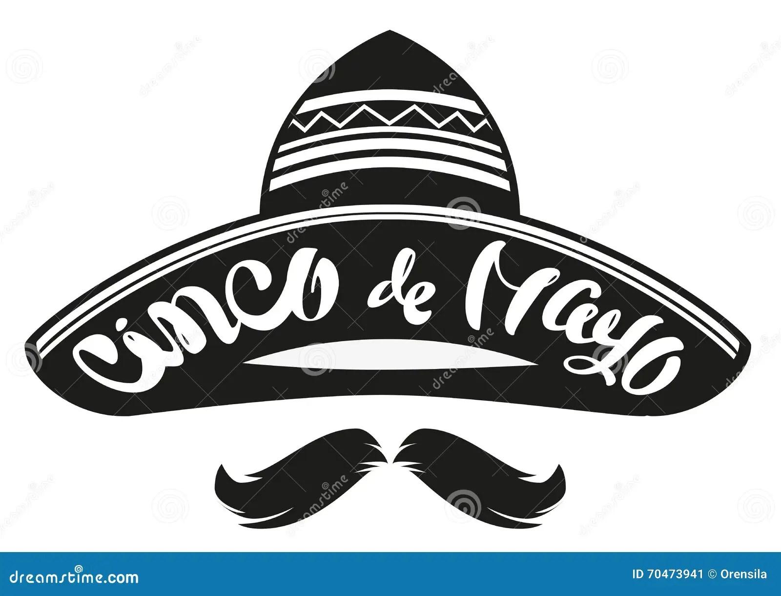 Cinco De Mayo Mexican Wide Brimmed Hat Sombrero
