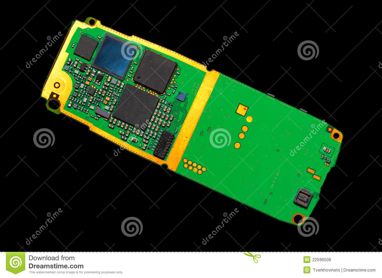 Cell Phone Circuit Board