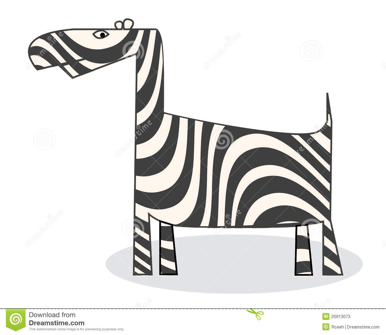 Clip Art Zebra Stock Photos