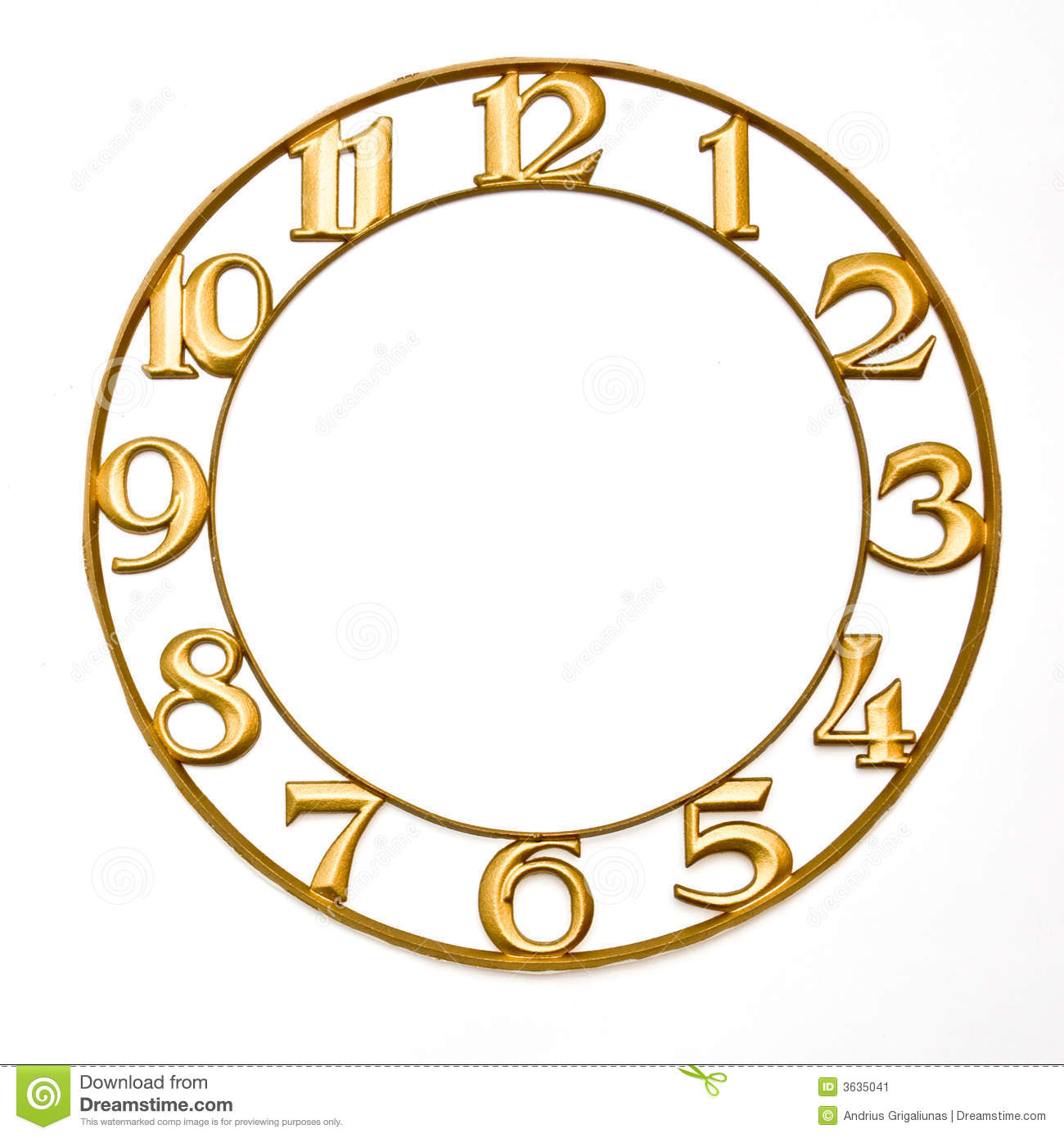 Clock Face Stock Image Image Of Twelve Face Clock Minute