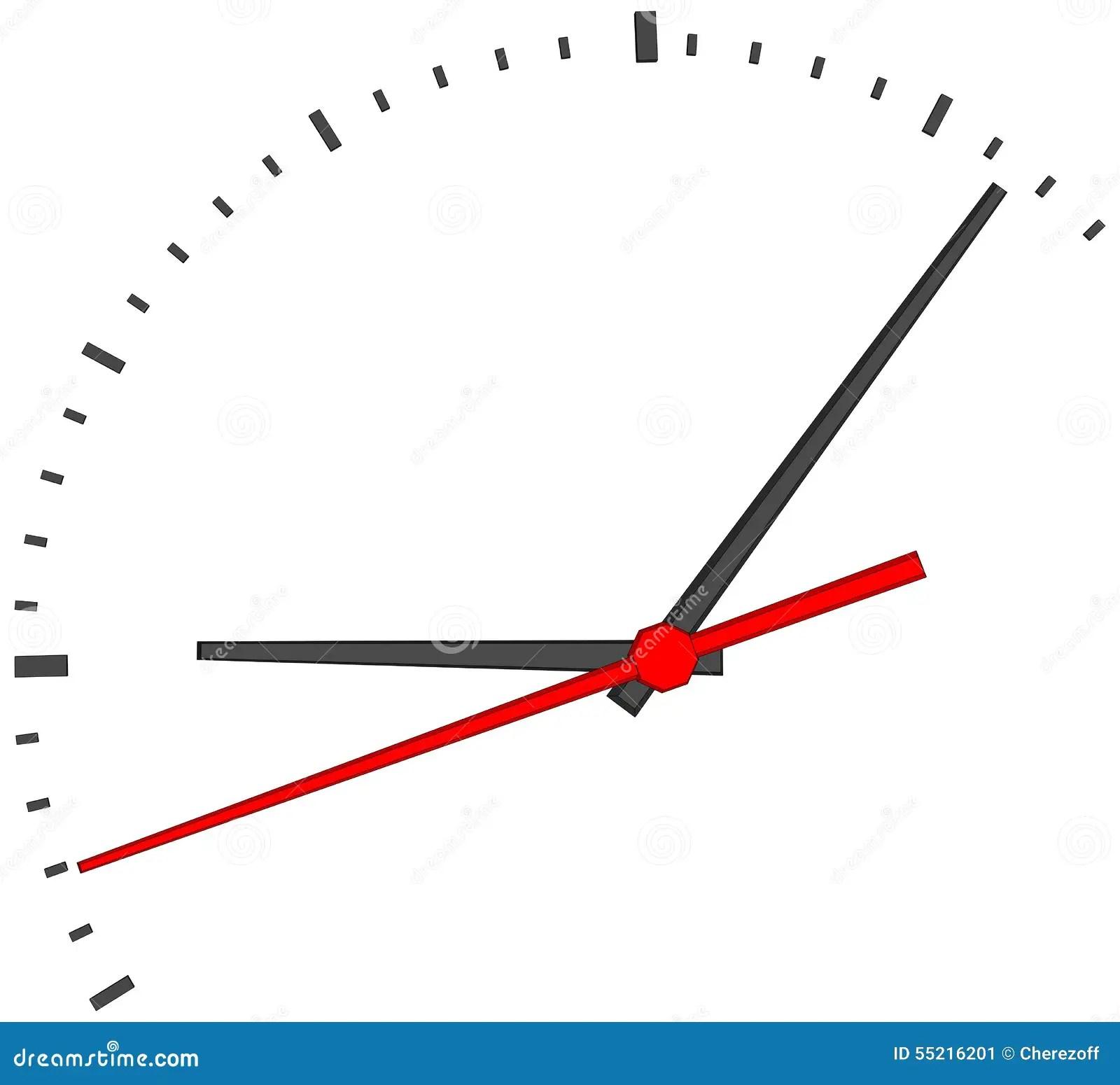 A Red Clock