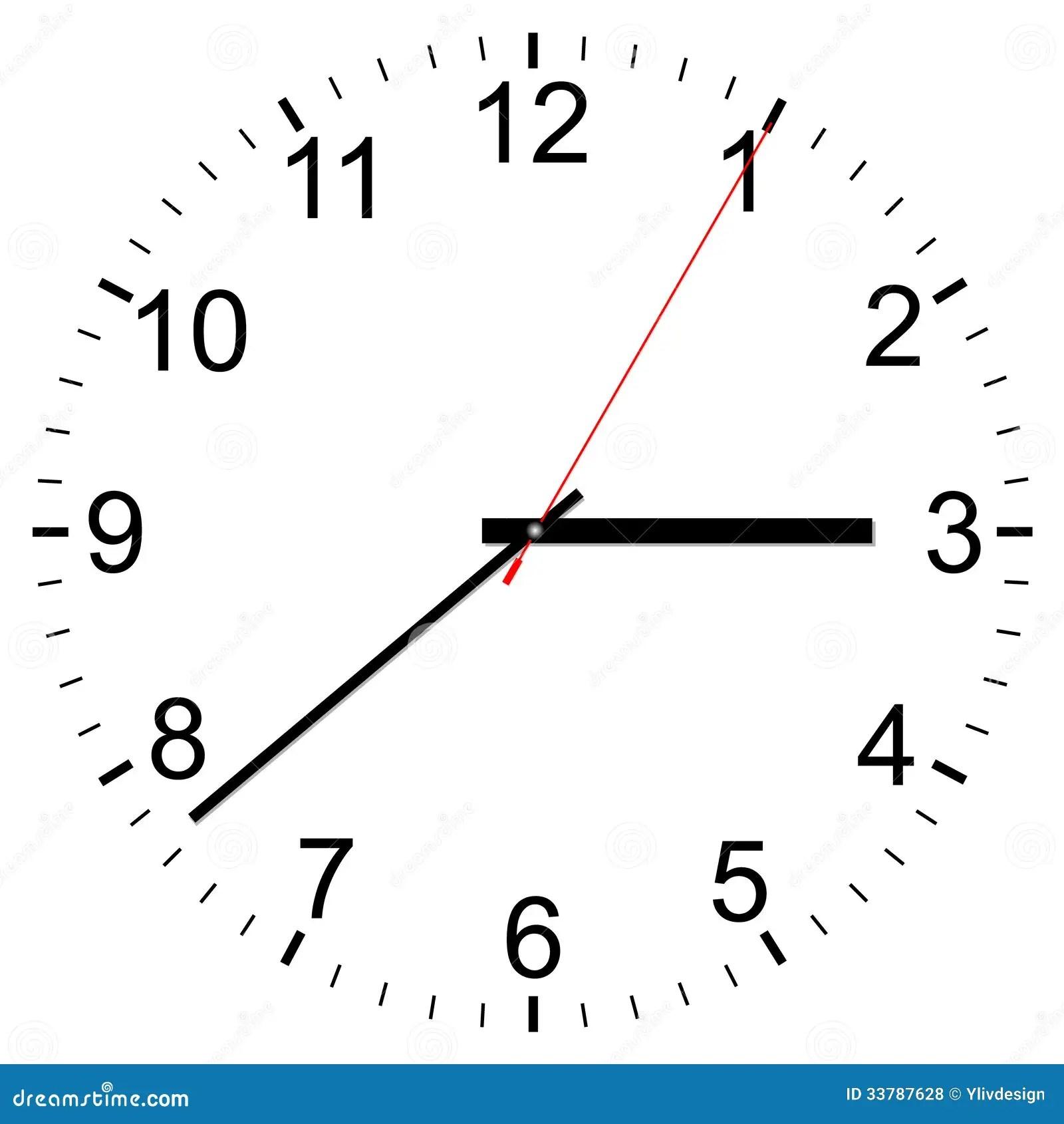 Clock Vector Icon Royalty Free Stock Photos