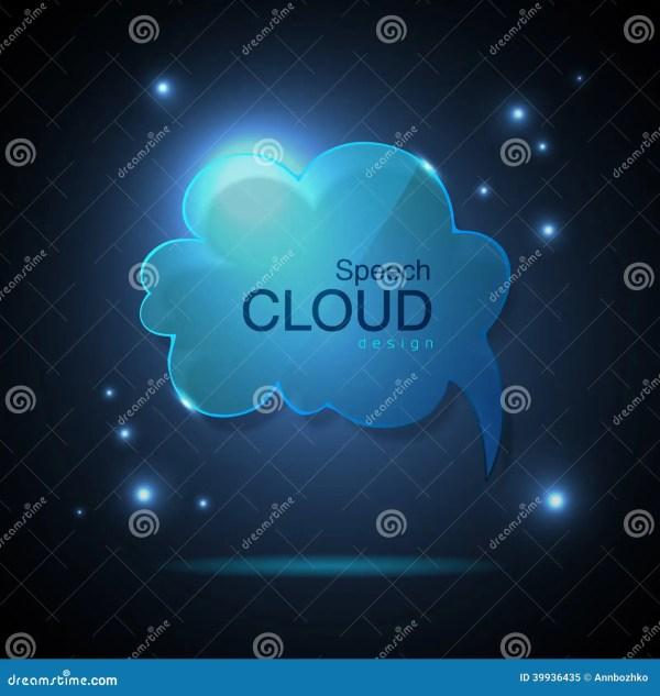Cloud Speech Bubble Stock Vector - Image: 39936435