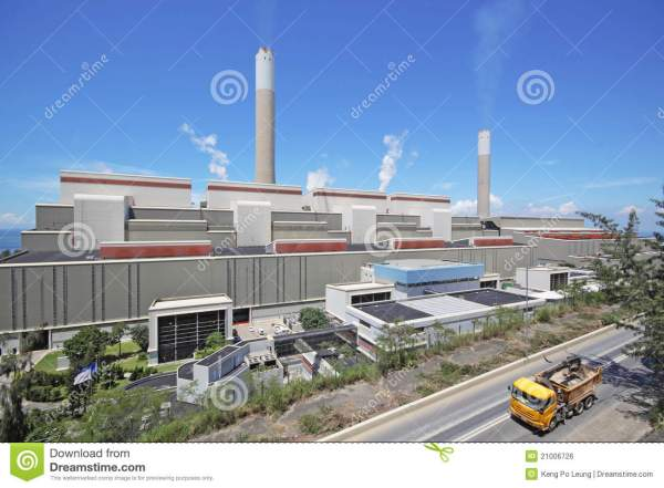 Coal Fired Power Station Royalty Free Stock Image - Image ...