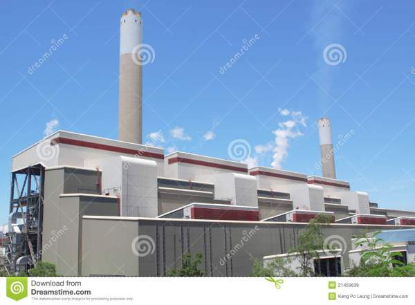 Coal Fired Power Station Royalty Free Stock Images - Image ...