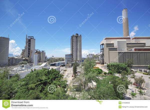Coal Fired Power Station Stock Photo - Image: 21459640