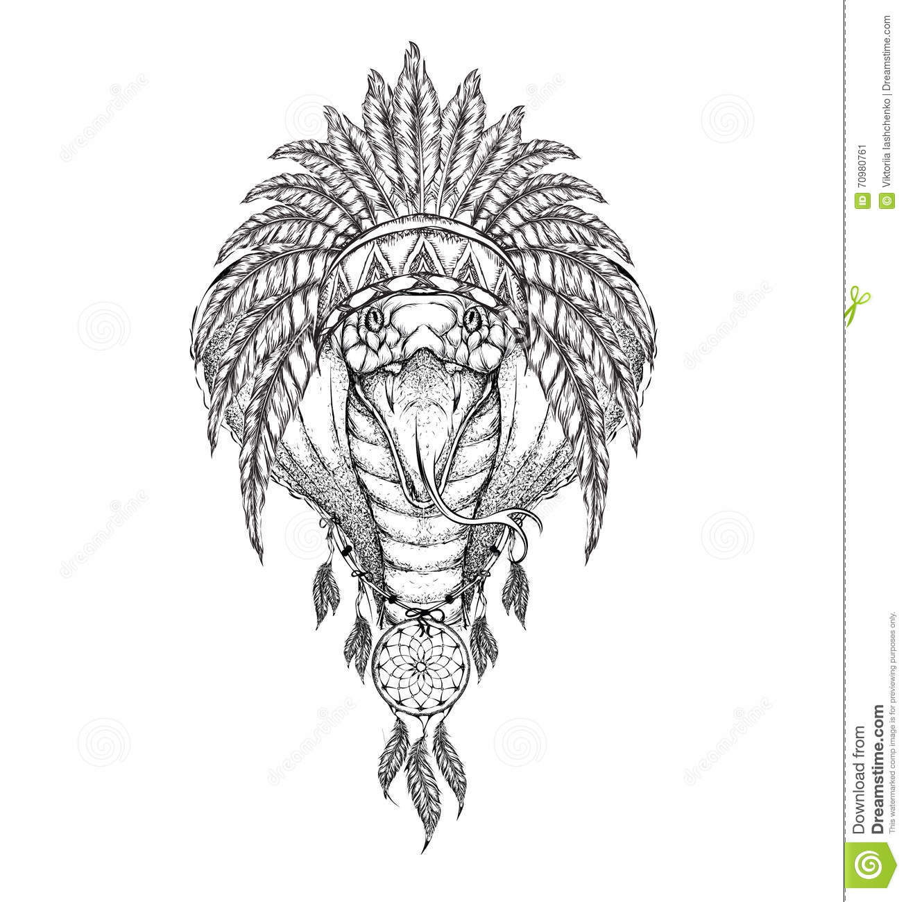 Indian Eagle Drawing