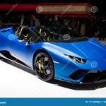 Coche De Deportes De Lamborghini Huracan Performante Spyder Foto De Archivo Editorial Imagen De Coche Deportes 111650023