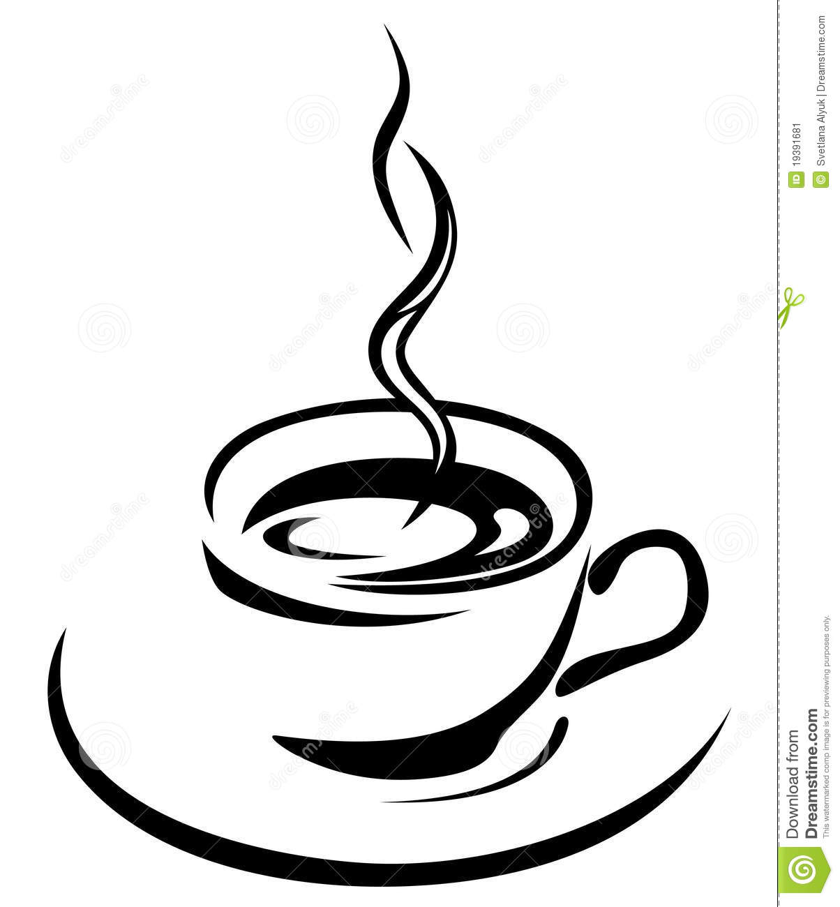 Coffee Cup Vector Stock Image