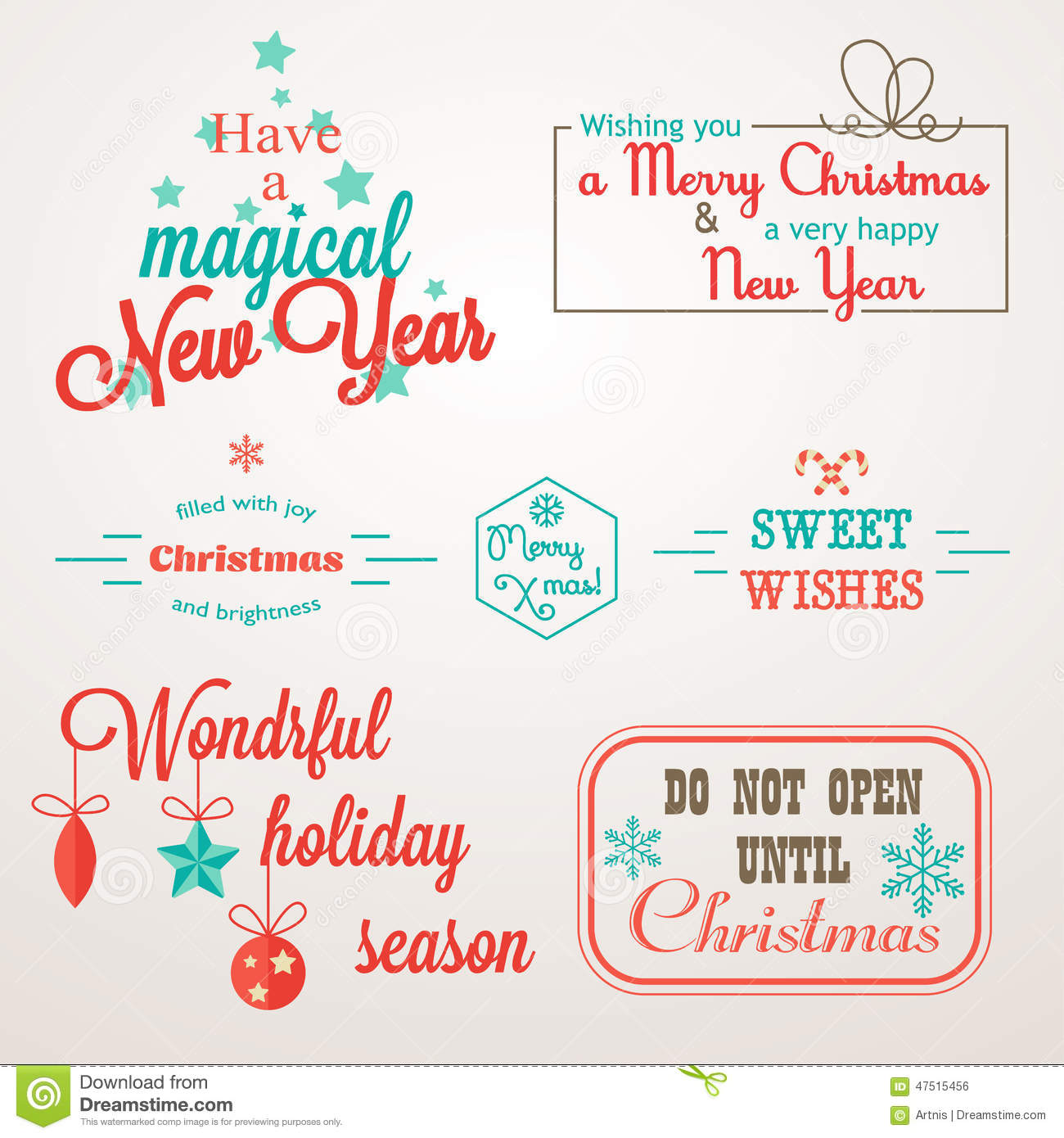 New Year Greetings Phrases Merry Christmas And Happy New Year 2018