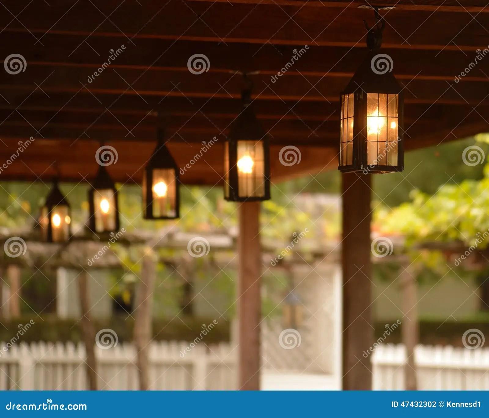 Colonial Lanterns Stock Photo Image 47432302