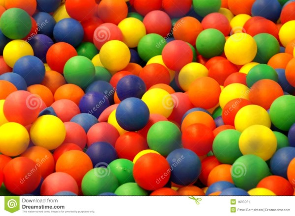 Color balls stock image Image of surface glass