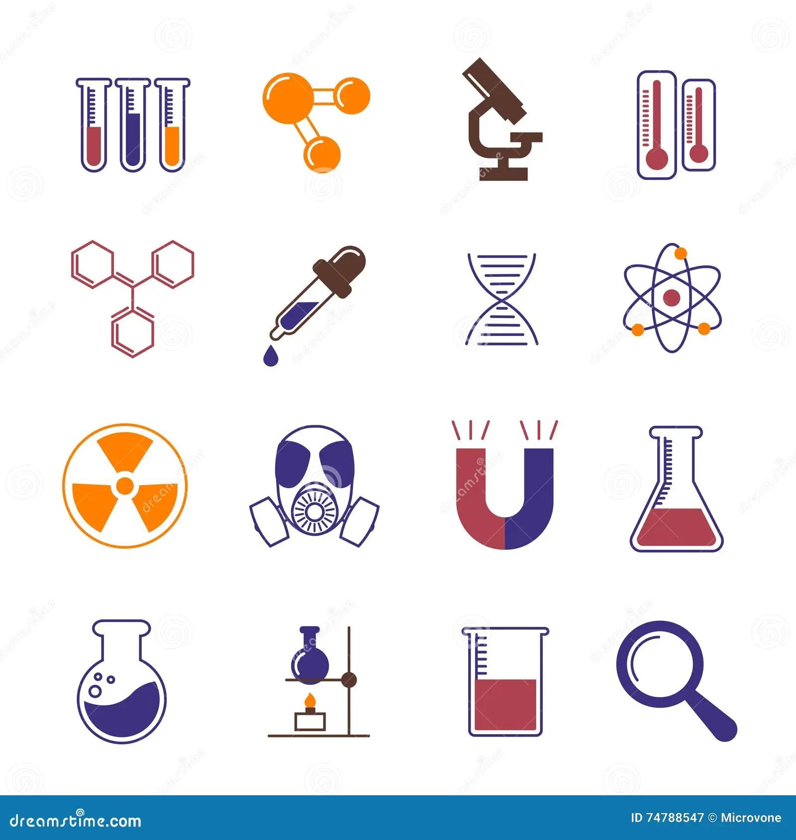 Dna Research Color Icon Cartoon Vector