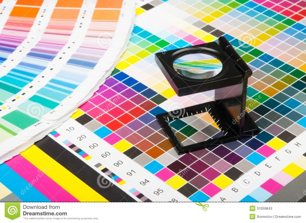 Color Management In Print Production Stock Photos - Image ...