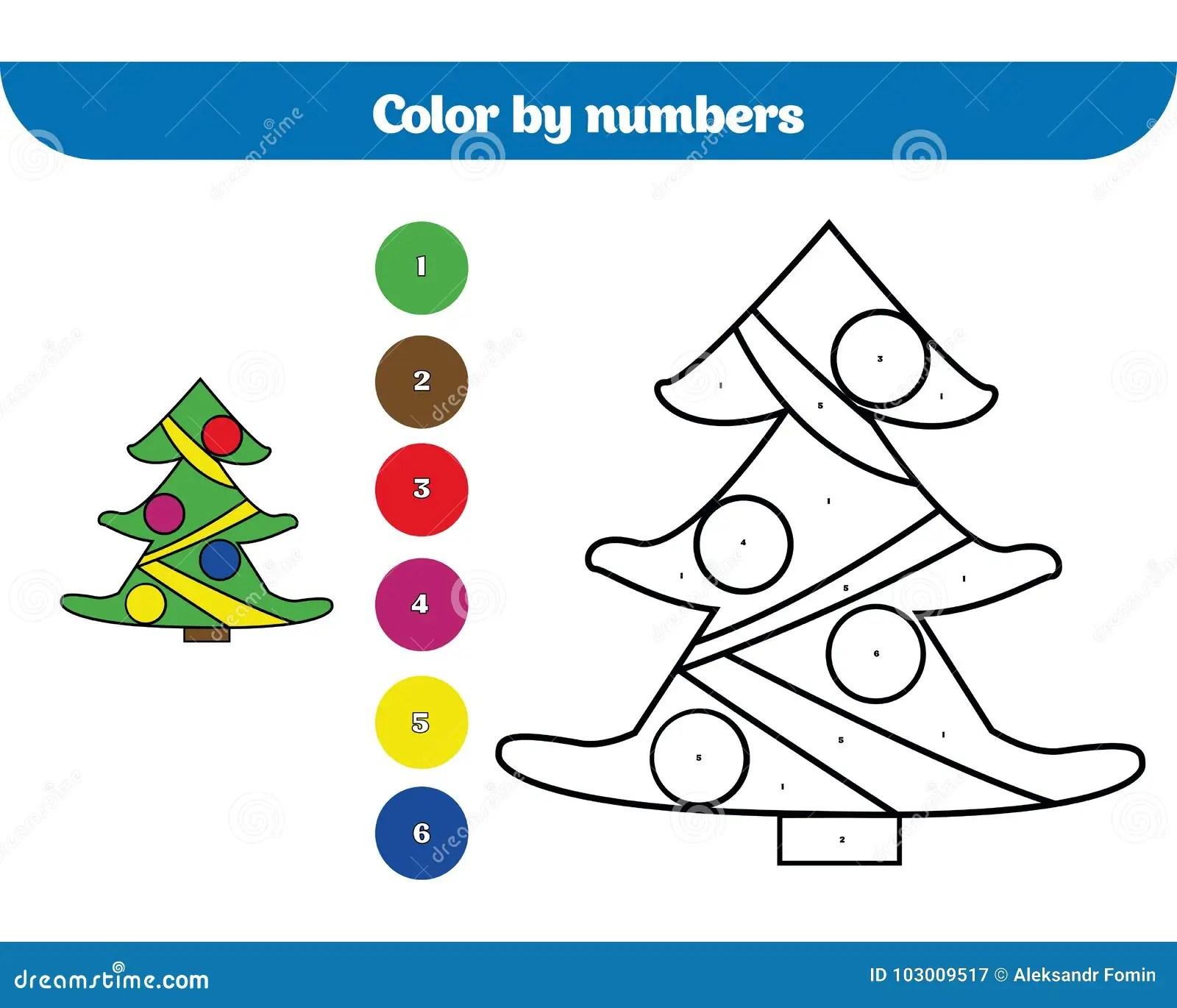 Color Por El Numero Juego De La Educacion Para Los Ninos