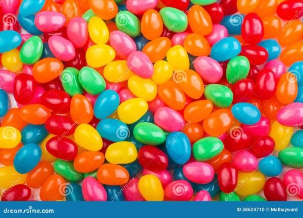 Colorful Jellybeans Stock Photo - Image: 38624710