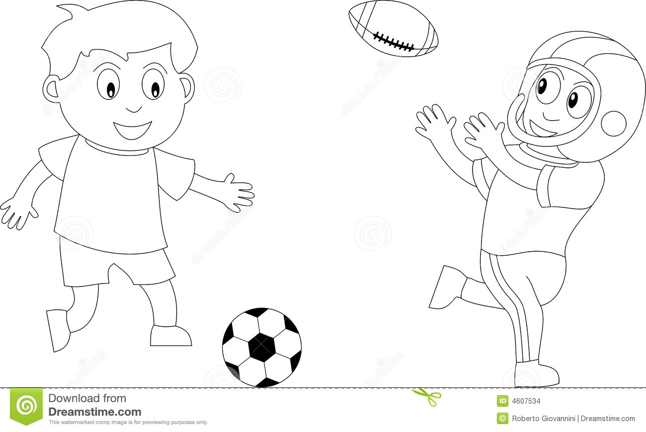 Coloring Book For Kids 4 Stock Illustration