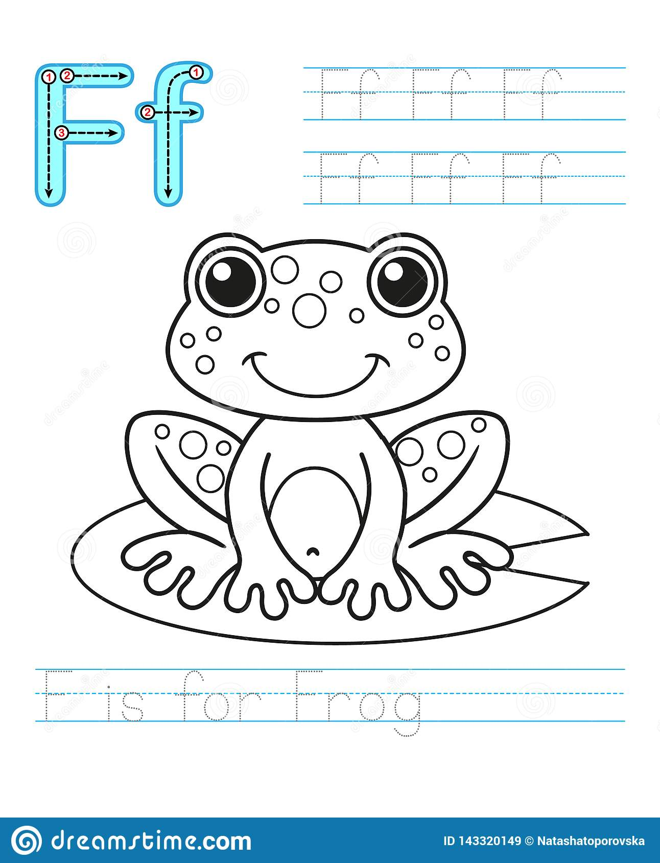 Coloring Book Page Printable Worksheet For Kindergarten
