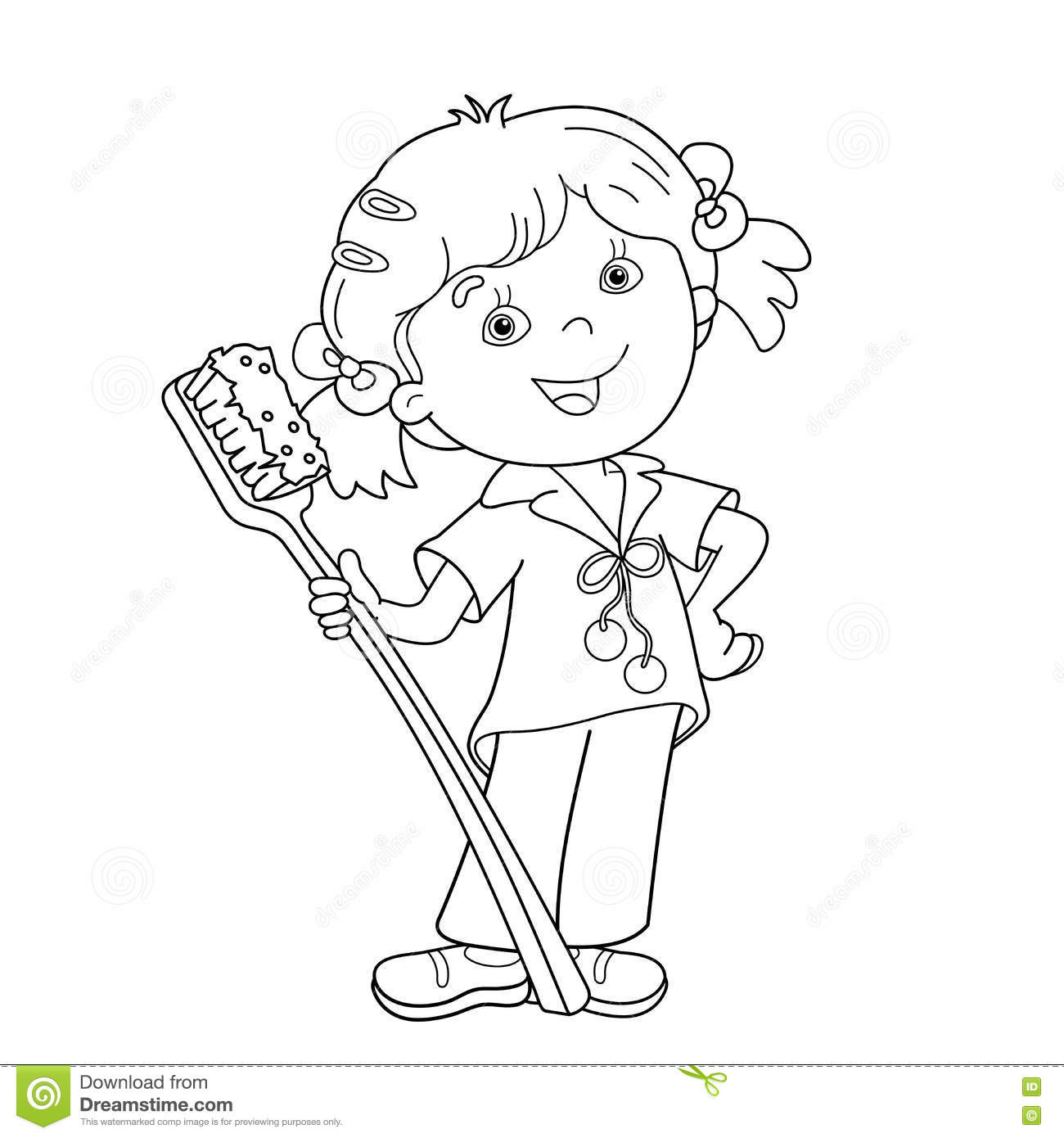 Tooth Of Time Clip Art Sketch Coloring Page