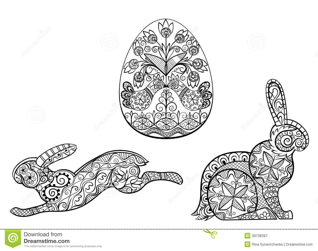 Images About Icolor Easter Bunnies