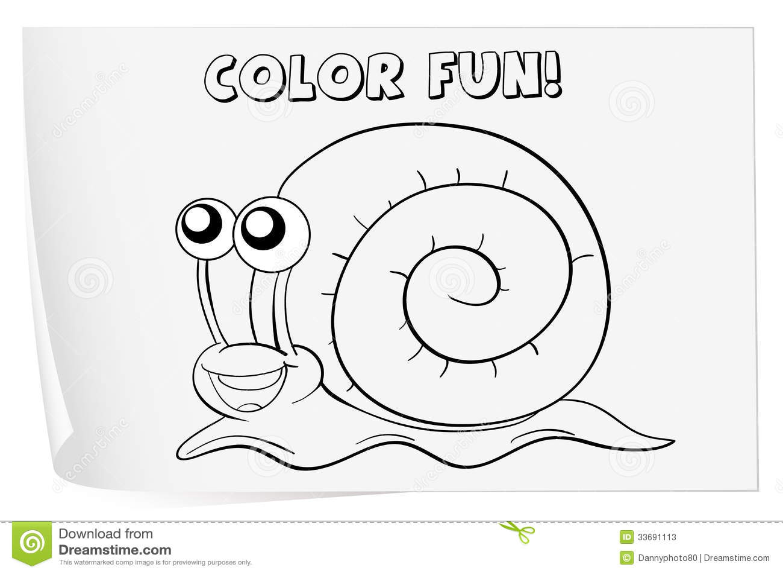 Coloring Worksheet Stock Photos