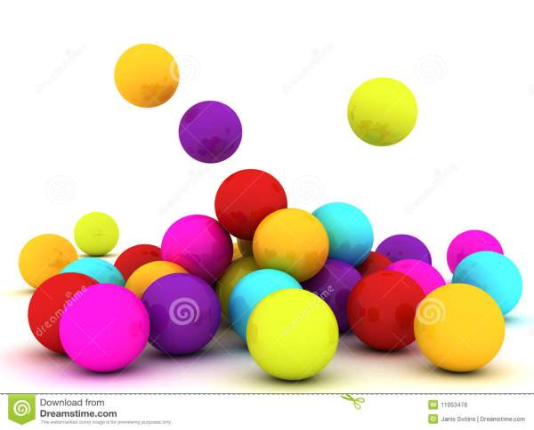 Colour Balls Royalty Free Stock Image Image 11053476